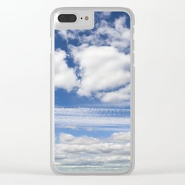 yellow-green grass rye Clear iPhone Case