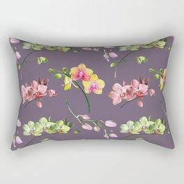 Orchid Craze II Rectangular Pillow