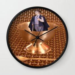 Eggsactly my dear Fellow! Wall Clock