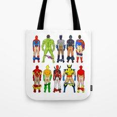 Superhero Butts LV Tote Bag