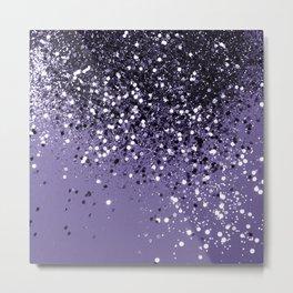ULTRA VIOLET Glitter Dream #2 #shiny #decor #art #society6 Metal Print