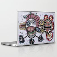 pirate Laptop & iPad Skins featuring Pirate by Kasia Ivona Chojnacka