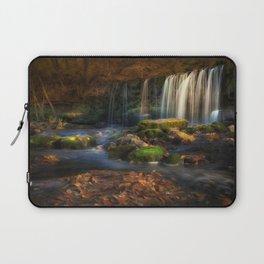 Sgwd Ddwli Uchaf waterfall Laptop Sleeve