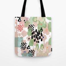 spring 2 modern contemporary Tote Bag