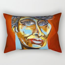 Queen of Jazz Rectangular Pillow