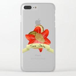 Team Brat - Team Snake (Heliodore) Clear iPhone Case