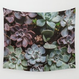 Succulent Paradise Wall Tapestry