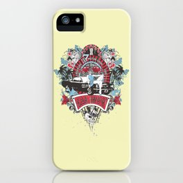Pin Up Girl - Car Show No.02 iPhone Case