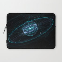 Space & Particles - GodEye 01 Laptop Sleeve