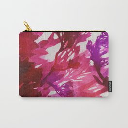 Morning Blossoms 2 - Magenta Variation Carry-All Pouch