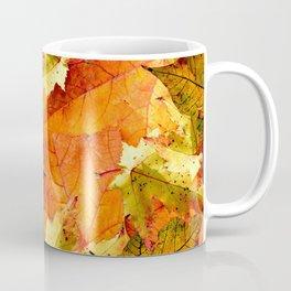 Fallen Autumn Leaves Coffee Mug