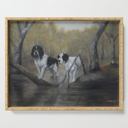 Swamp Spaniels Serving Tray