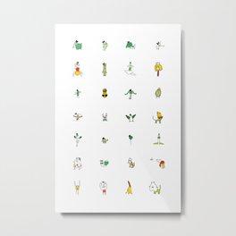 Little Dudes Metal Print