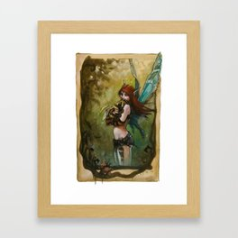 Baby Bee Framed Art Print