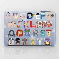pixar iPad Cases featuring P is for Pixar (Pixar Alphabet) by Mike Boon