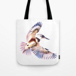 Colorful Kingfisher Tote Bag