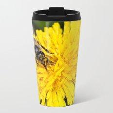 Bees tongue Metal Travel Mug