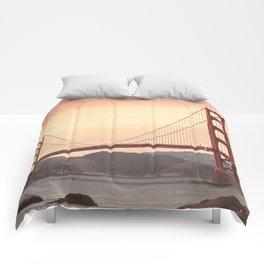 Golden Gate Bridge (San Francisco, CA) Comforters