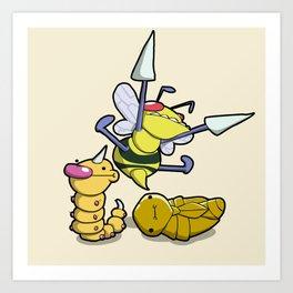 Pokémon - Number 13, 14 & 15 Art Print