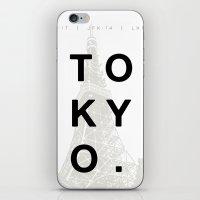 tokyo iPhone & iPod Skins featuring Tokyo. by Dean Yorimitsu