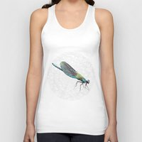 dragonfly Tank Tops featuring Dragonfly by Matt McVeigh
