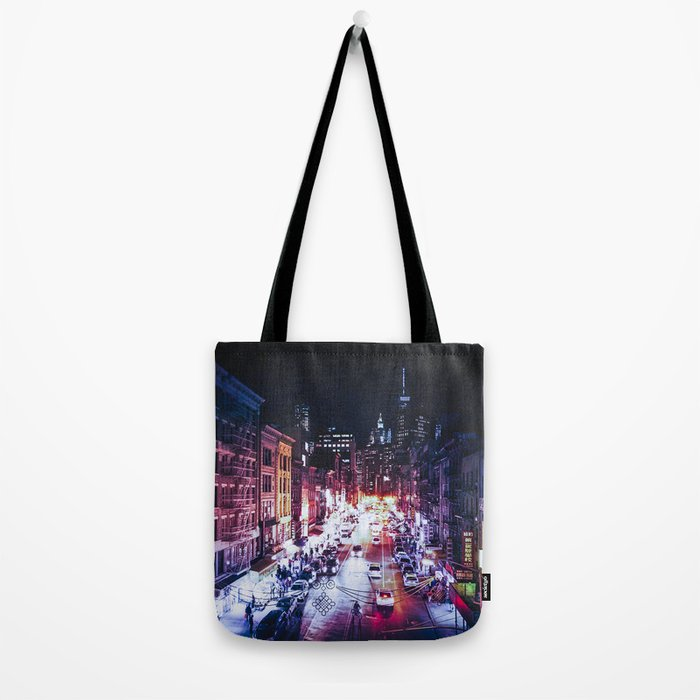NYC Night Tote Bag