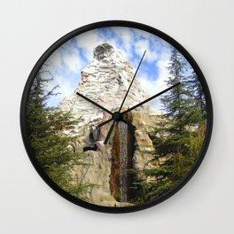 Matterhorn Falls Wall Clock