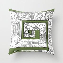Totem-ish Throw Pillow