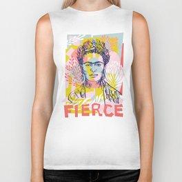 Fierce like Frida Biker Tank