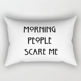morning people ew Rectangular Pillow