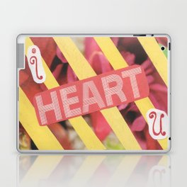 I Heart U. Laptop & iPad Skin
