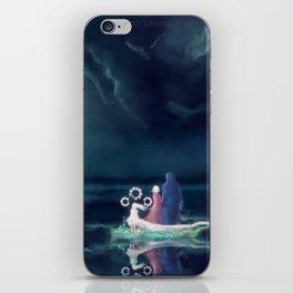 Night III - Moonsail iPhone Skin