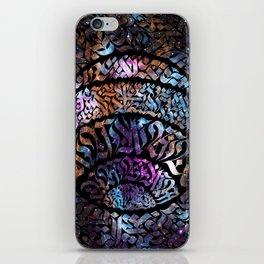 Calligram Nebula 1 iPhone Skin