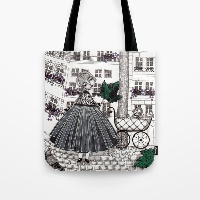 Hadessah's Leaf Tote Bag