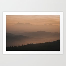 Mountain Love - Landscape and Nature Photography Art Print