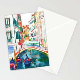 Canal in Venice Stationery Cards