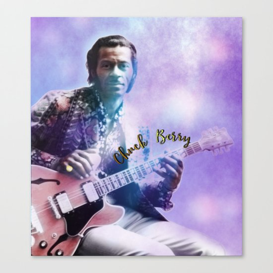 Father of Rock and Roll Canvas Print