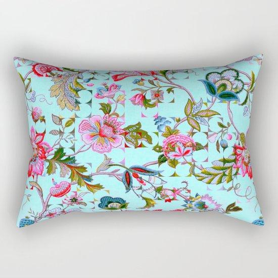 ancient floral Rectangular Pillow