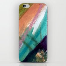 Lucky [5] - a bright abstract mixed media piece iPhone Skin