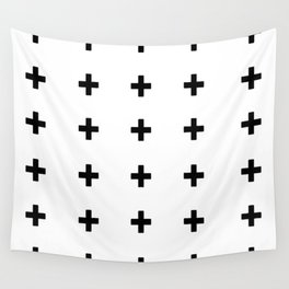 +++ (black) Wall Tapestry