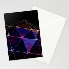 BLACKLIGHT CRYSTAL BALL Stationery Cards