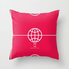 Universal Platform (Outlined) Throw Pillow
