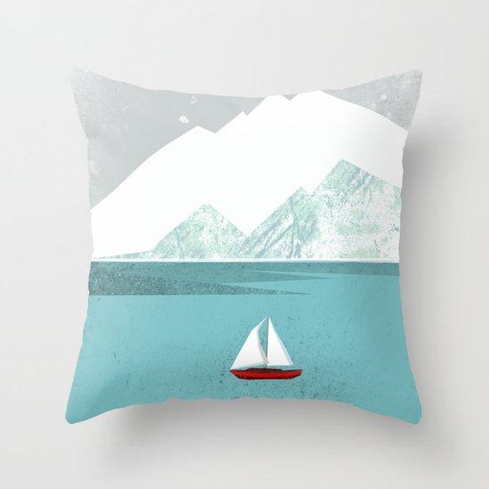 Dawn Treader Throw Pillow