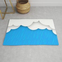 Abstract 3D Rain Rug