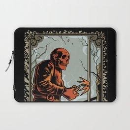 Skull Welder Tarot Laptop Sleeve