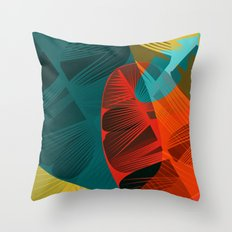 Spring is for feathers Throw Pillow
