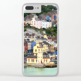 Colorful Cobh Ireland Clear iPhone Case