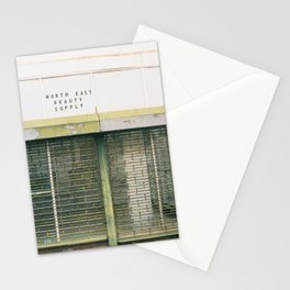 Abandoned H st Beauty Supply Shop Stationery Cards