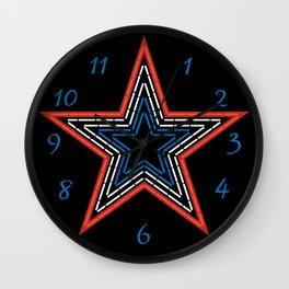 Roanoke Pride Mill Mountain Star Wall Clock