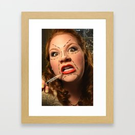 Plastic Surgery Framed Art Print